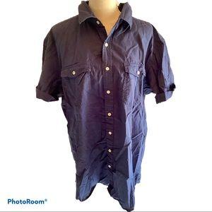 Old Navy Short Sleeve Button Down Shirt.